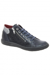 bottines casual chacal 4513 bleu
