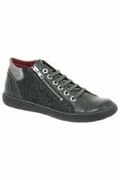 bottines casual chacal 4513 vert