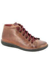 bottines casual chacal 4801 f marron