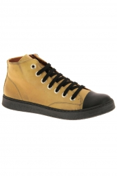 bottines casual chacal 5355 jaune