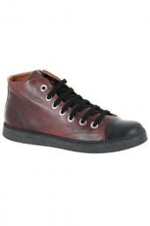 bottines casual chacal 5355 bordeaux