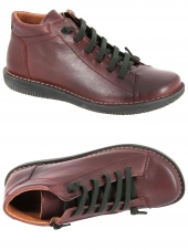 chaussures plates chacal 5208 bordeaux