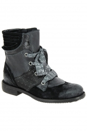 bottines fashion charme 1302 noir