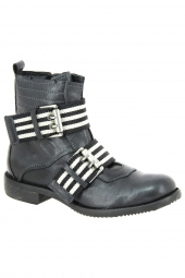bottines fashion charme 1304 noir