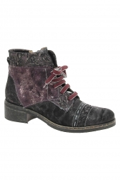 bottines fashion charme 8116 bordeaux