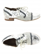 chaussures plates charme 569-19e-05 argent
