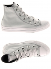 baskets mode converse ctas big eyelets hi gris