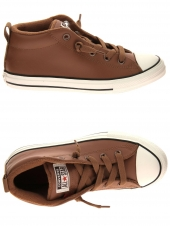 boots converse all star street mid marron