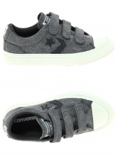 chaussures en toile converse star play ox 3v march canvas gris