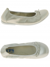 chaussures basses de style ballerine cps ava or/bronze