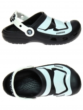 tongs crocs stormtrooper clog noir