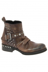 bottines fashion curiosit� 1014 marron
