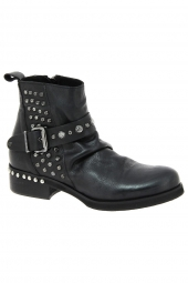 bottines fashion curiosit� 1014 noir
