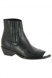 bottines fashion curiosit? 1409p991 noir