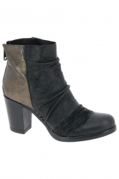 bottines fashion curiosit� 5801 noir