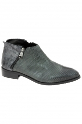 bottines fashion curiosit� b203v gris