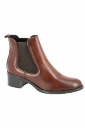 bottines de ville cypres 661-012 marron