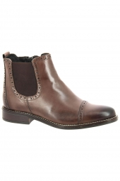 bottines de ville cypres dina wh065h22 marron