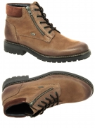 chaussures montantes fourrees cypres eliseo mh503h08 tx marron