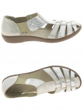 chaussures plates cypres 15114,87 beige