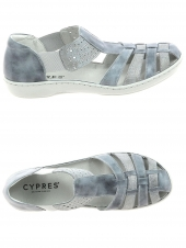 chaussures plates cypres 19080.005 gris