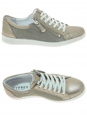 chaussures plates cypres 442/6460 sally20 or/bronze