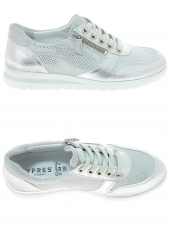 chaussures plates cypres 555/7781 stella01 blanc