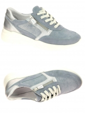 chaussures plates cypres 850/8924 daisy04 bleu