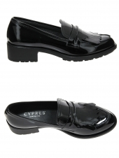 chaussures plates cypres 972233 noir