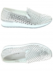 chaussures plates cypres b8199 argent