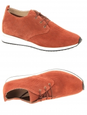 chaussures plates cypres helit st 4726 orange