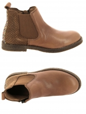 boots cypres kids ago marron