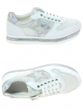 chaussures basses cypres kids ag1102 c1405 blanc