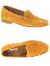 mocassins cypres 11145b or/bronze