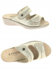 mules cypres 19124.033 or/bronze