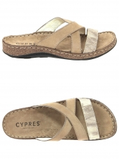 mules cypres 386 121 470 taupe