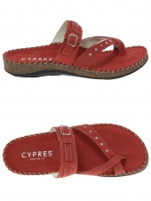 mules cypres 3861 22200 rouge