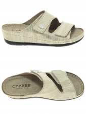 mules cypres 8.68.0179.403 or/bronze