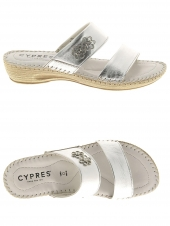 mules cypres cy22302 argent