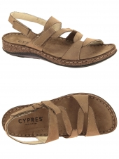nu-pieds cypres 3861 41460 taupe