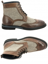 boots daniel kenneth d492-4 marron