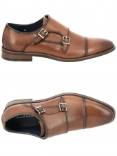chaussures a boucles daniel kenneth zd1818-71-a846 marron