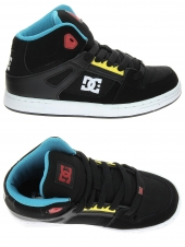 boots fourres dc shoes rebound noir