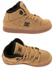 boots fourres dc shoes rebound wnt marron