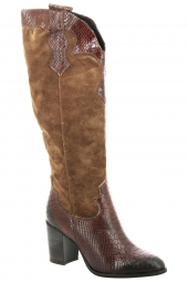 bottes fashion di lauro 5157 marron