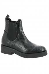 bottines casual di lauro 3098 noir