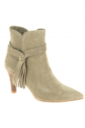 bottines d'ete di lauro jy1949-2 beige