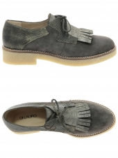 chaussures plates di lauro cressino taupe