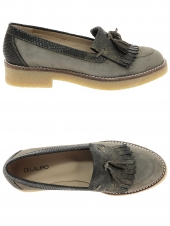 chaussures plates di lauro cretin taupe