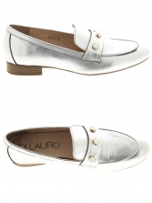 chaussures plates di lauro jc17-p21a argent